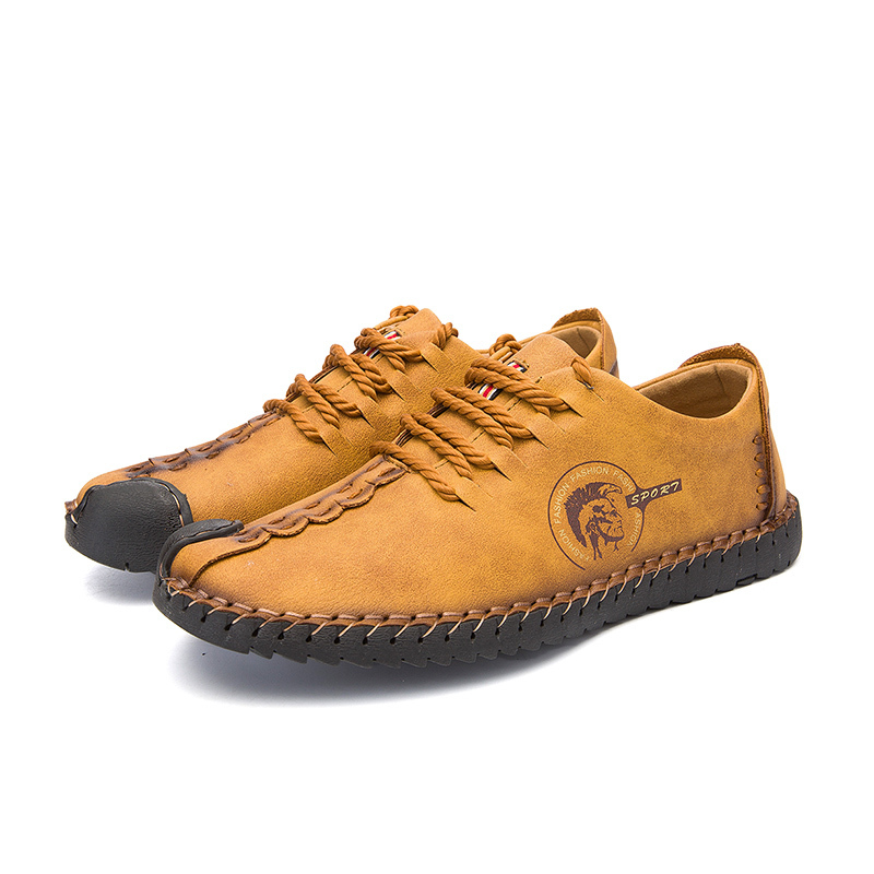 New Men Comfortable Casual Shoes Fashion Platform Summer Loafers Mens Flats Moccasins Shoes Slip-on Split Boat Shoes Big Size MX190717