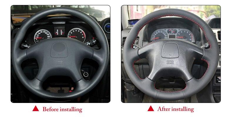 for Mitsubishi Pajero Sport steering wheel cover