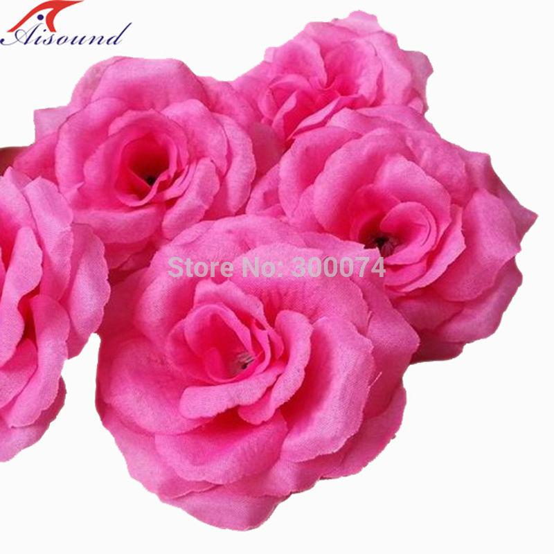 Fuchia rose flowers