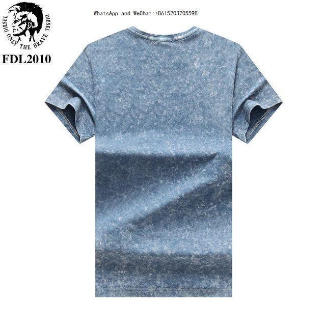 Primavera E Outono Novo Padrão Homens Estilo T Camisetas Versão Coreana Fácil Manga Curta Personalizado Maré 0308