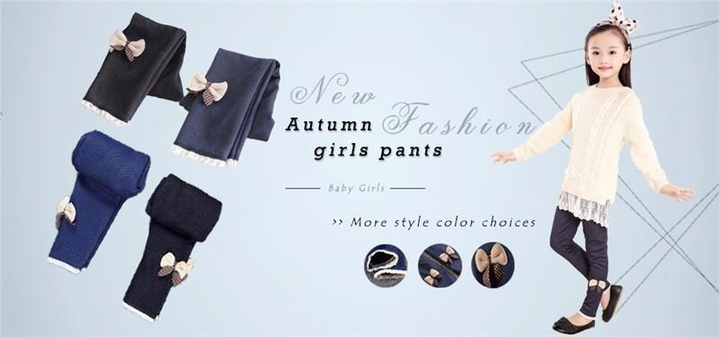 Autumn girls pants