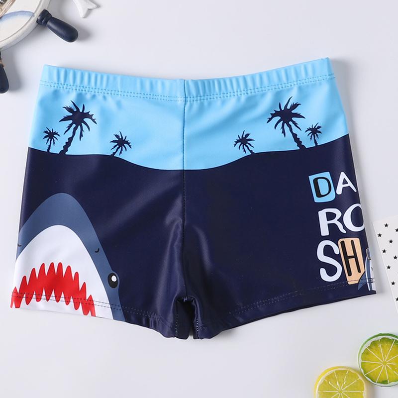 Unisex Boys Girls The Lemon Pattern Beach Shorts Running Water Sport Fashion Boardshorts