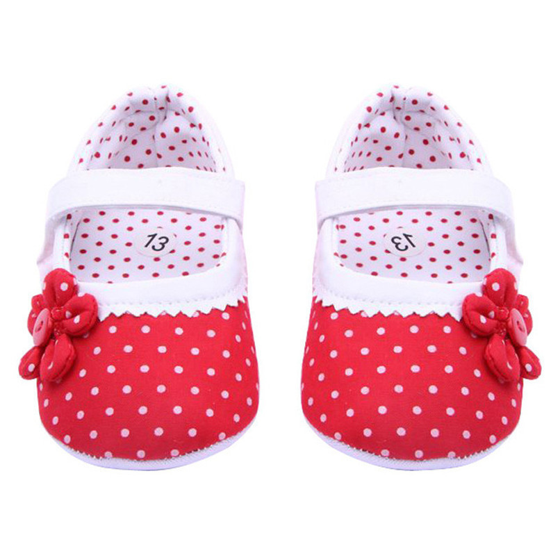 Summer Baby Girls Shoes Flower Soft Sole Cotton cloth Crib Shoes NDA84L17 (5)