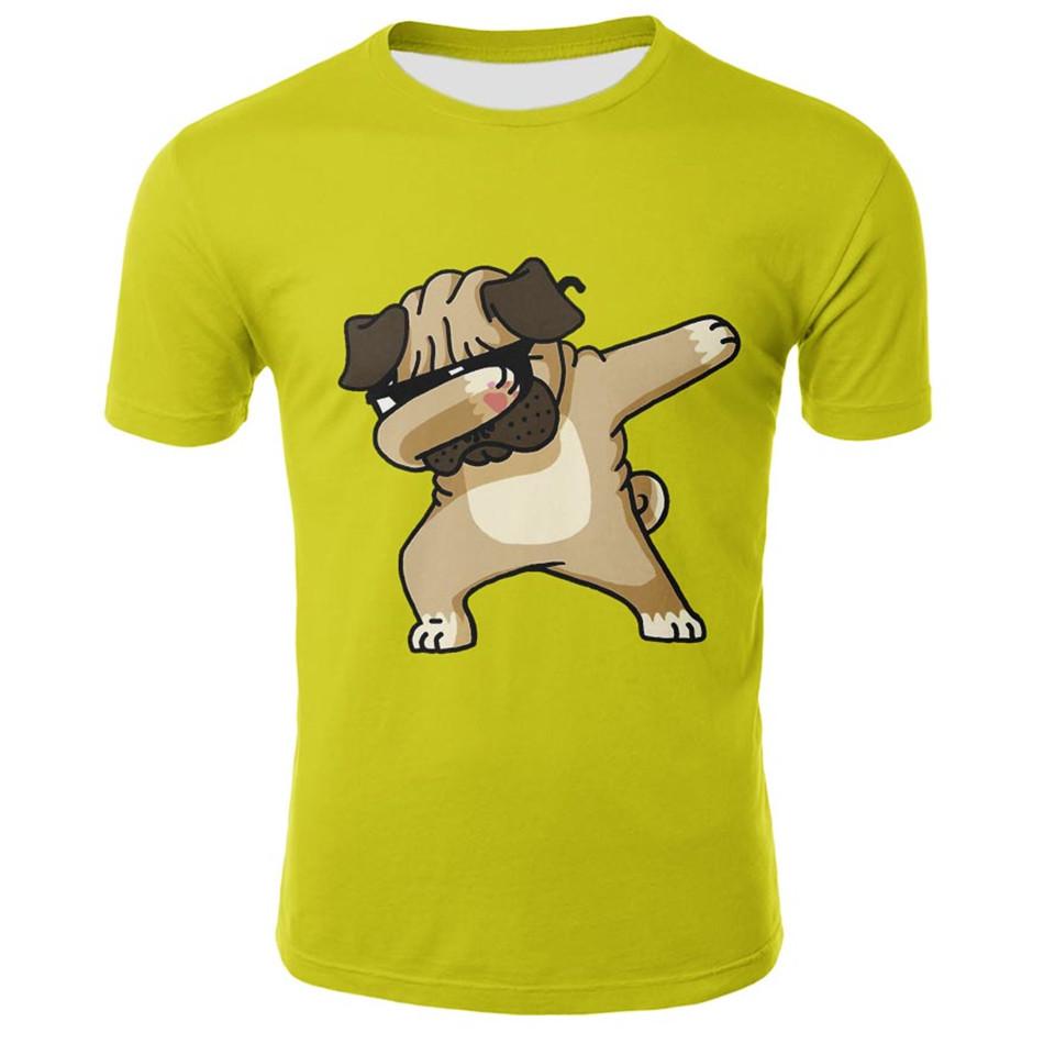 Unicorn Dab Kids T-Shirt Childrens Short Sleeve Shirts Printed Boys Girls