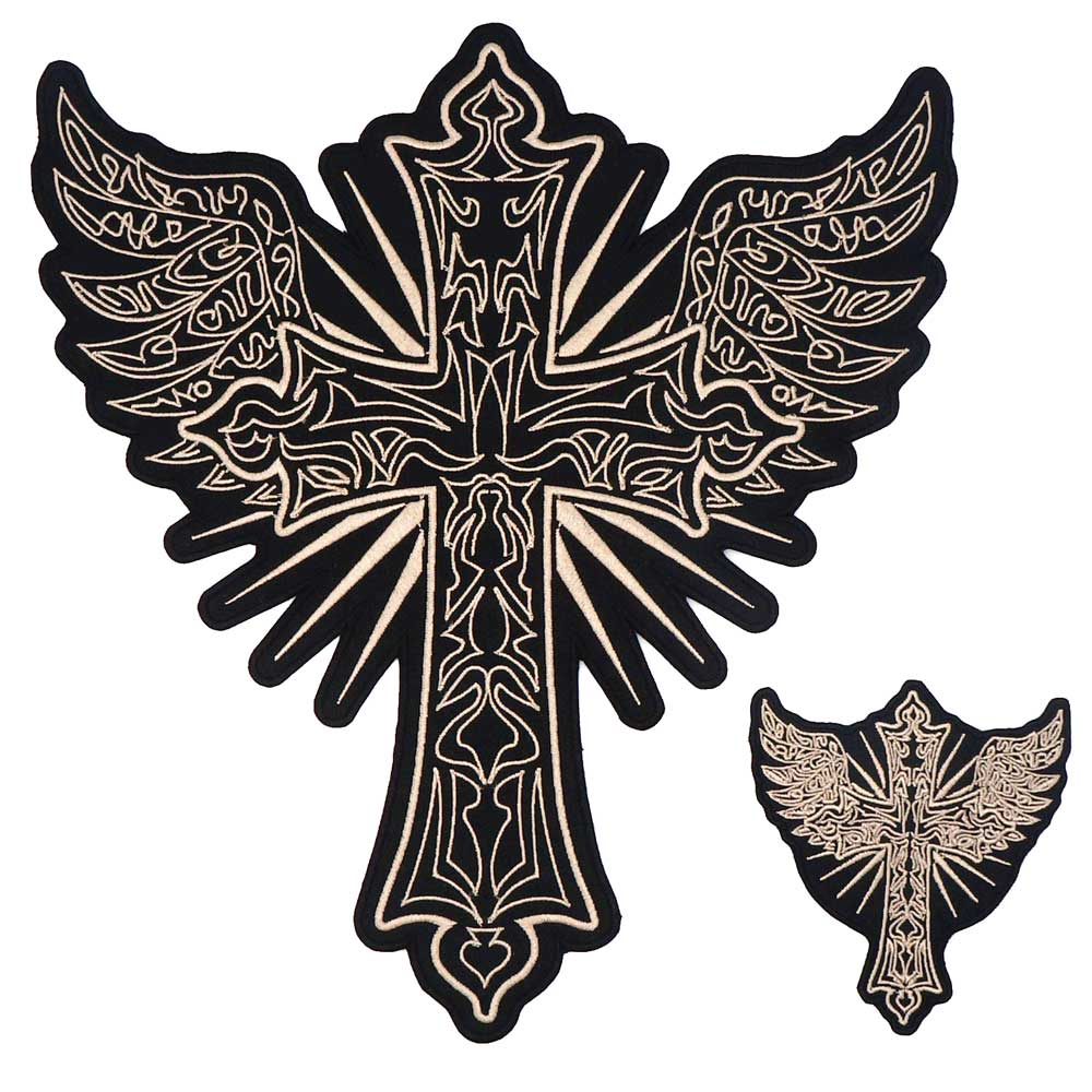 Croce di Ferro piccoli ricamate Croce Cavalieri Patch IRON CROSS
