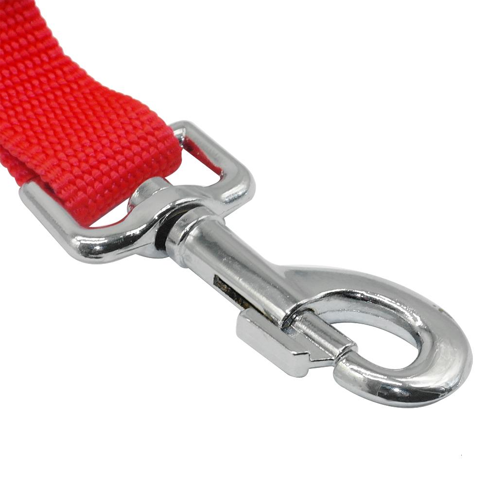 Soft Padded Handle Nylon Dog Car Travel Seat Belt Dogs Walking Leads Adjustable Wholesale