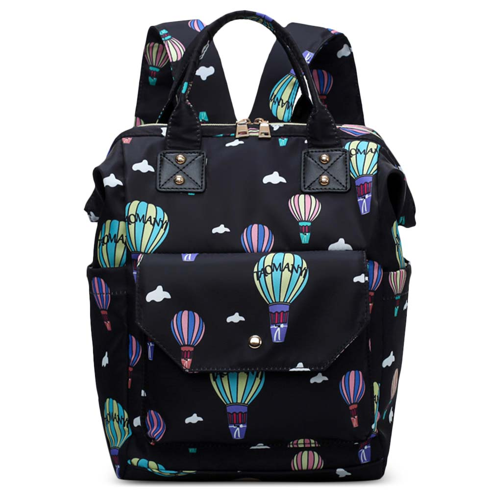 Diaper Bag Cute Pattern Waterproof Large Capacity Mother Women Backpack Fashion Mummy Maternity Nappy Bag For Mother Gift (4)