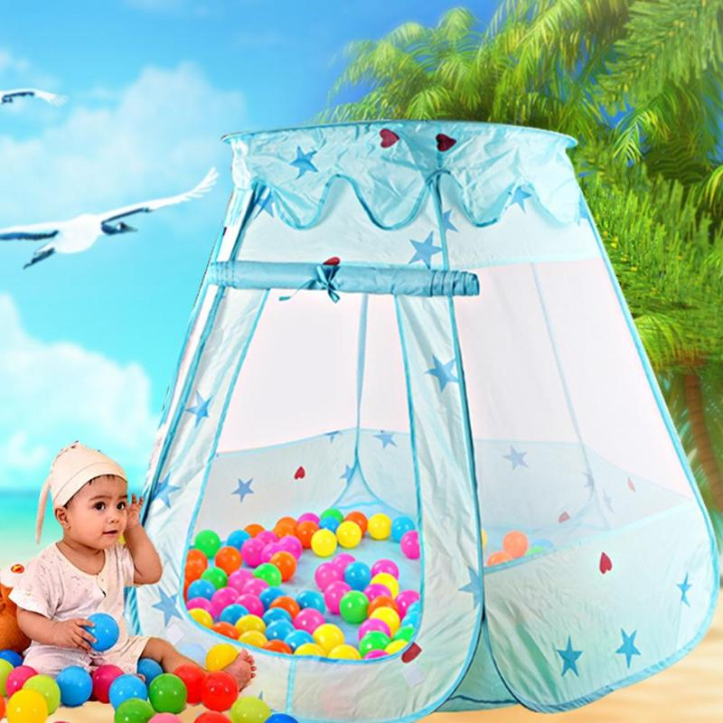 Dream Tent Ball Pool Playhouses Kids Baby Play Inflatable Pool Folded Portable Kids Juego al aire libre en Play tent Funny baby Girl