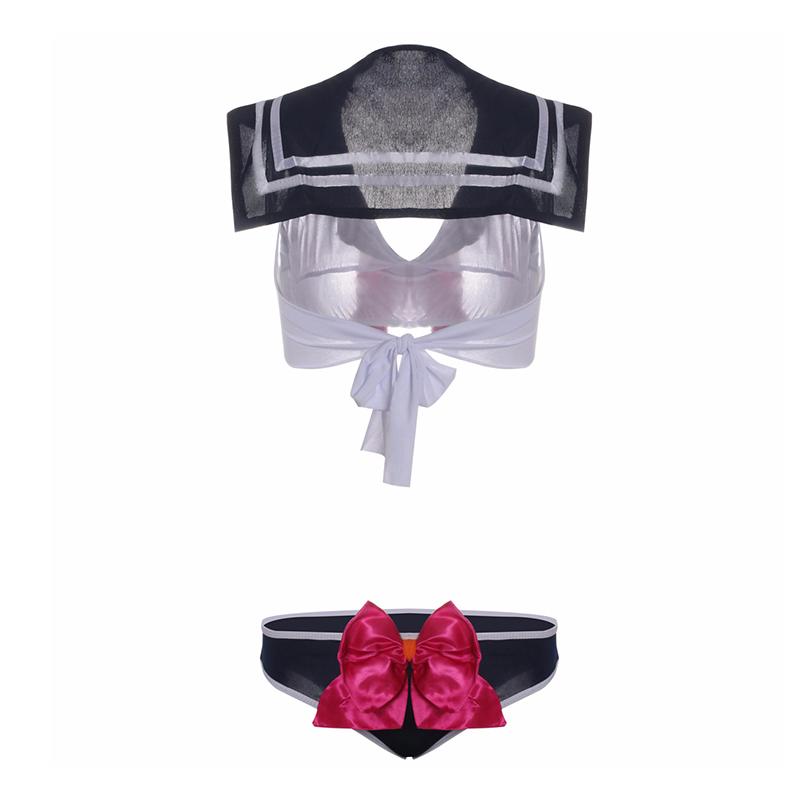 Kakaforsa Sexy Lingerie Hot Cosplay Student Uniform Bare Belly Button Costumi erotici Baby doll Japanese School Porn Dress