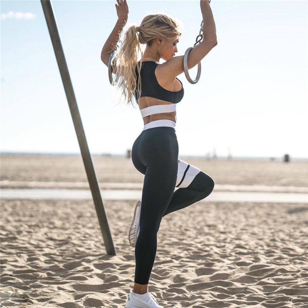 Jumpsuit Yoga Sets Women Gym Wear (8)