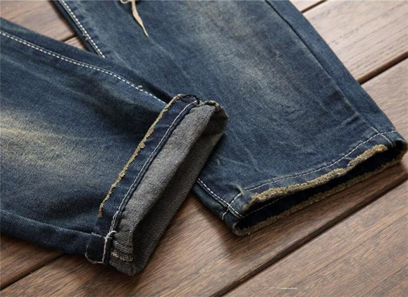 Mens ripped denim jeans10