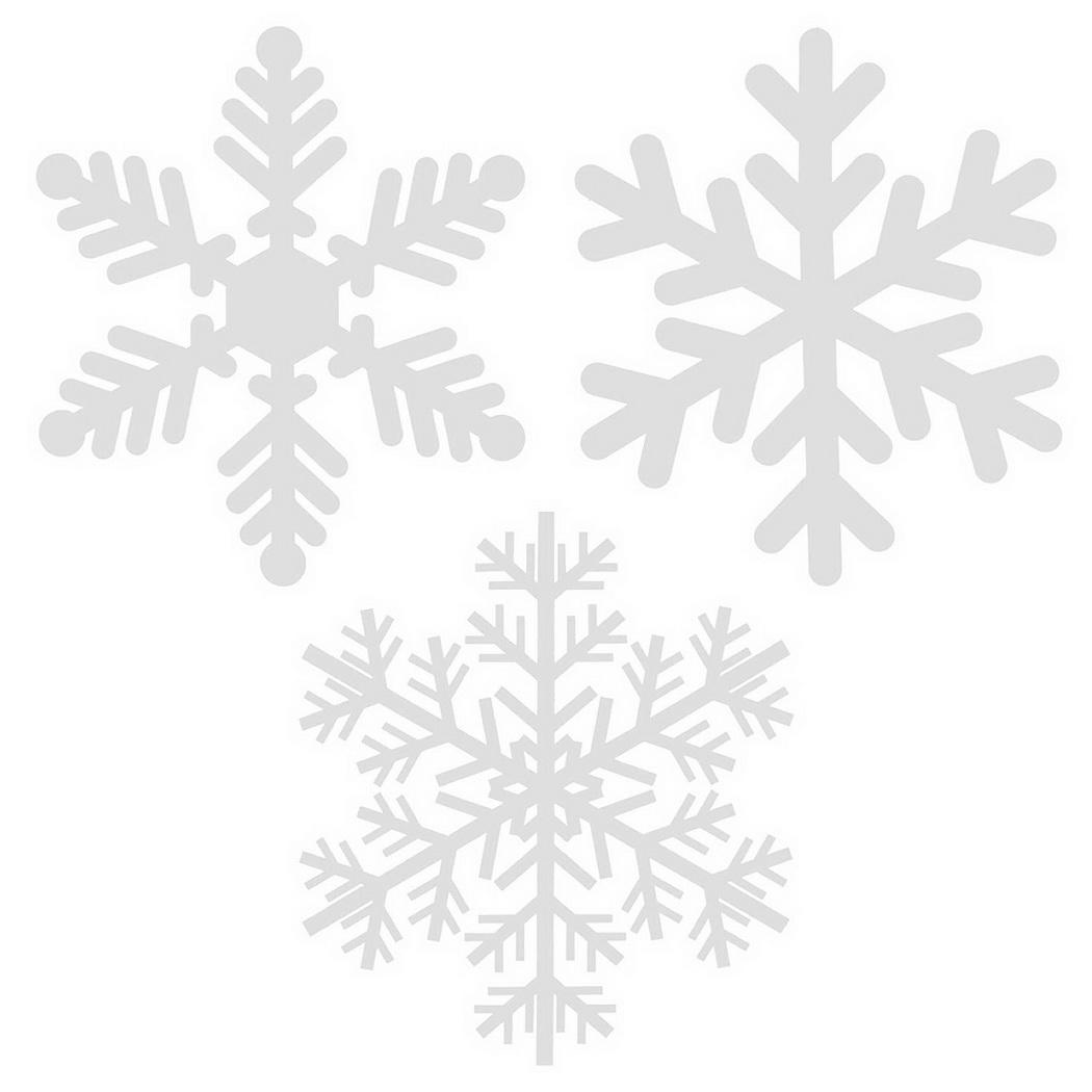 Fashion Removable Wall Sticker White Snowflake Window Art Decal Christmas Decor Fashion New Snowflake Wall Sticker