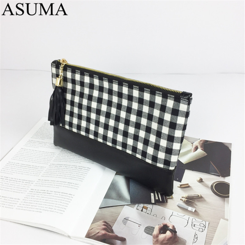 plaid canvas clutch (12)