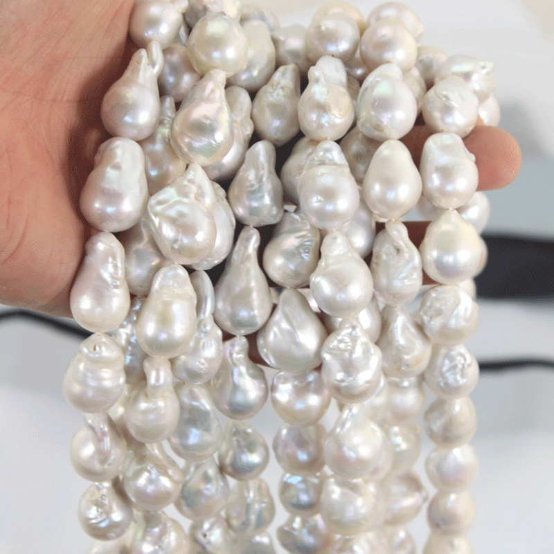 """New 38cm 15/"""" Jewelry making 1Strand Natural Freshwater Pearl Beads 4-5mm"""