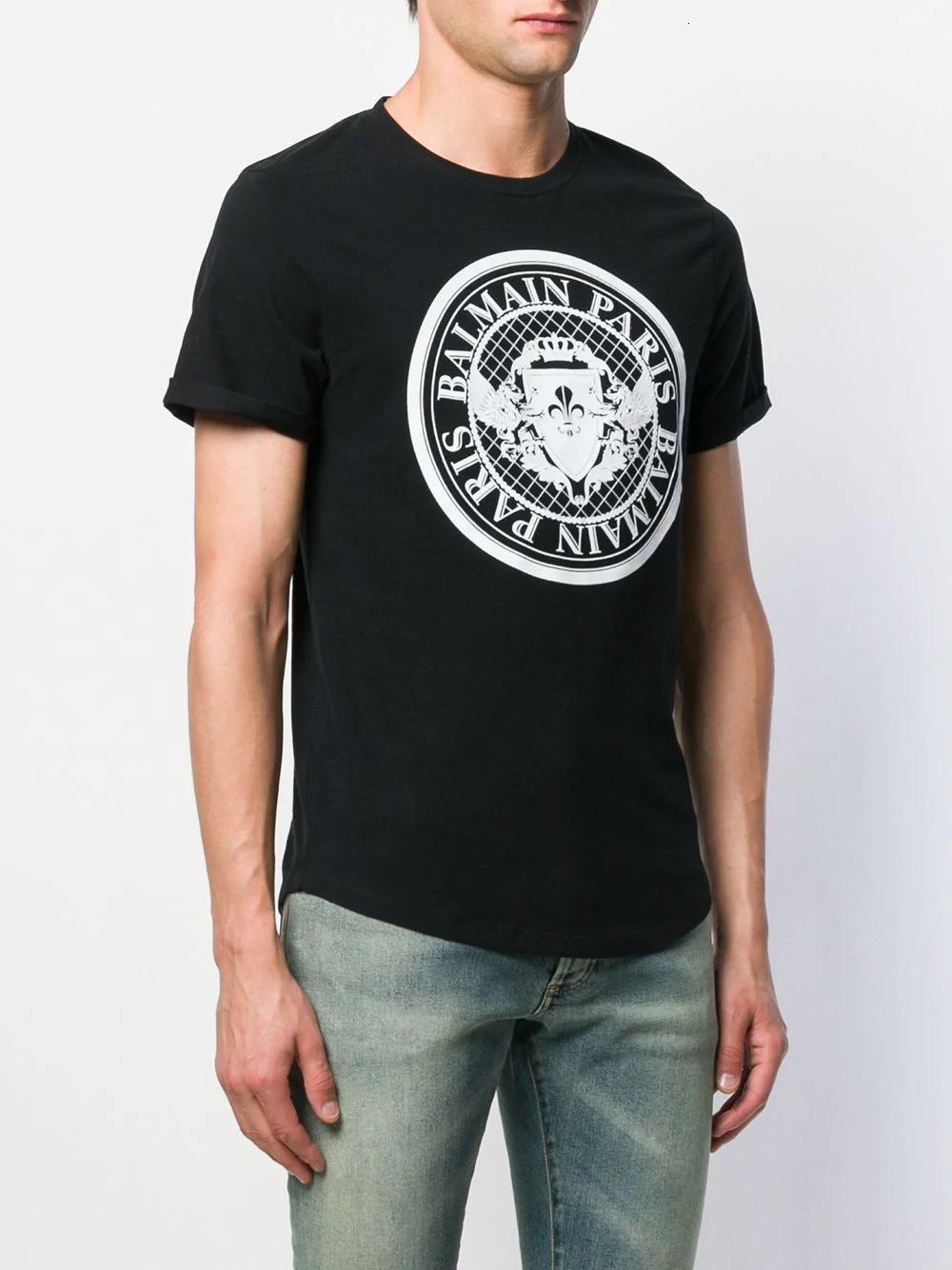 2020 Verão Novo Padrão manga curta T-shirt do homem superior da roupa coreana versão Slim roupa masculina 11283 grande