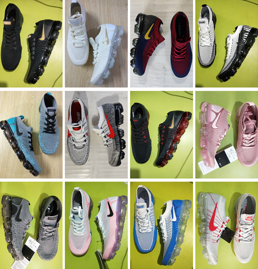 Nike Air VaporMax FK Moc Flyknit 1 2 Max Men Women Running Shoe Sneaker Pick 1