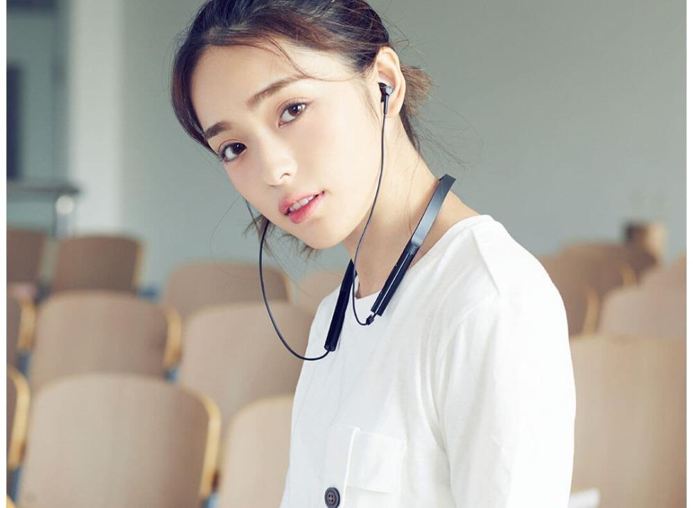 Newest Xiaomi Collar Bluetooth Headset Youth Version 2018 New Neckband Sports Earphone Fast Charge Mi Wireless Headphone (5)