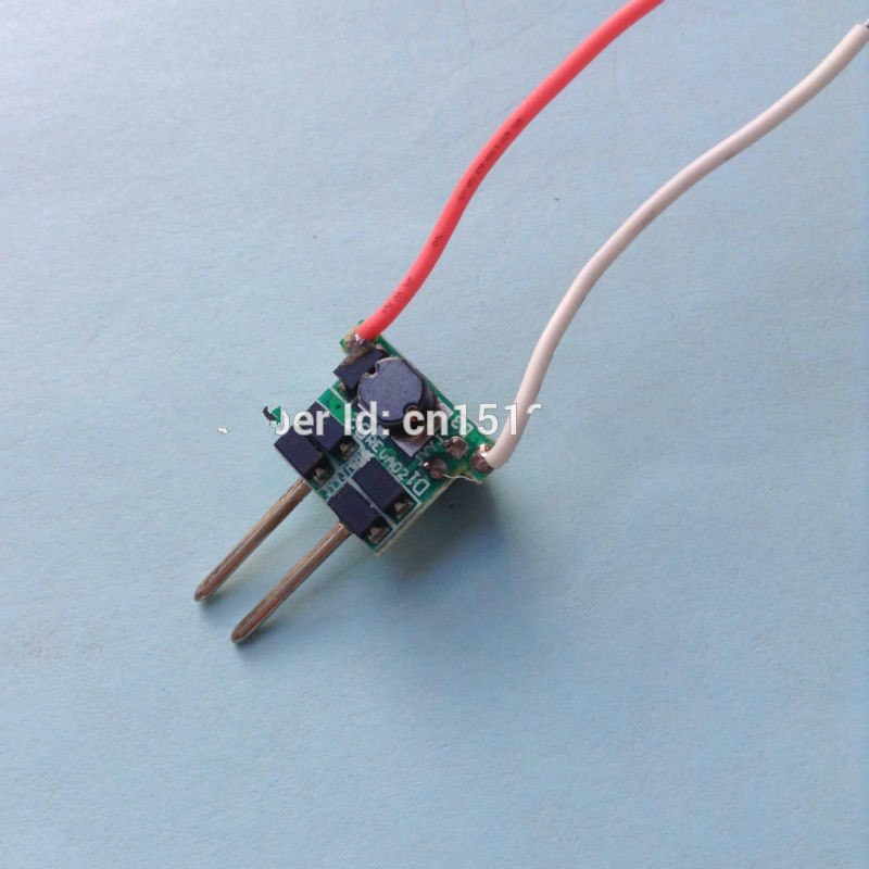 DEL Driver 1x3W courant constant transformateur pour Lampe à Lumière Alimentation
