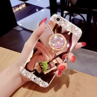 Apple X Stick Drill Hand Shell Apple 6/7/8 Bring Bracket Hand Shell Xs Max Mirror Noodles Bring Ring Buckle Protect Shell