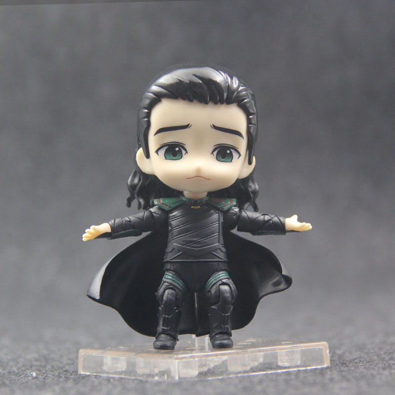 Marvel Thor Ragnarok Loki Action Figures Q Ver 866 Nendoroid Bjd Model Toys 10cm Q190604