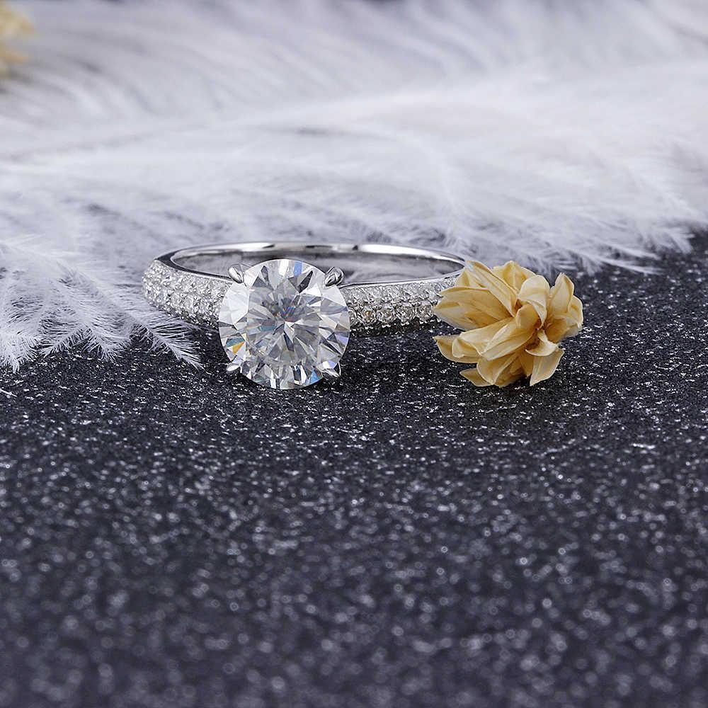 1.5CT moissanite engagement ring (2)