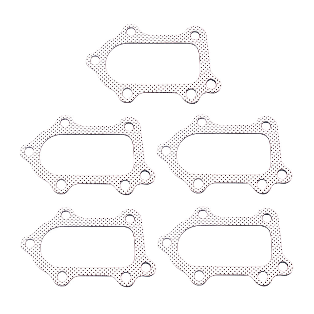 Silver , Pack Of 10 EPMAN GT-T GT4 Turbo To Manifold Gasket For Toyota 3SGTE GT CT20 CT20b ST215 ST246
