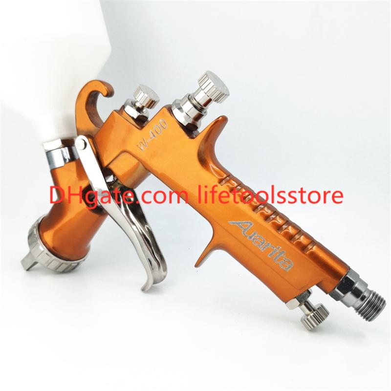 AUARITA Pistola rociadora Pintura Aire Gravedad HVLP 2,5mm 600CC
