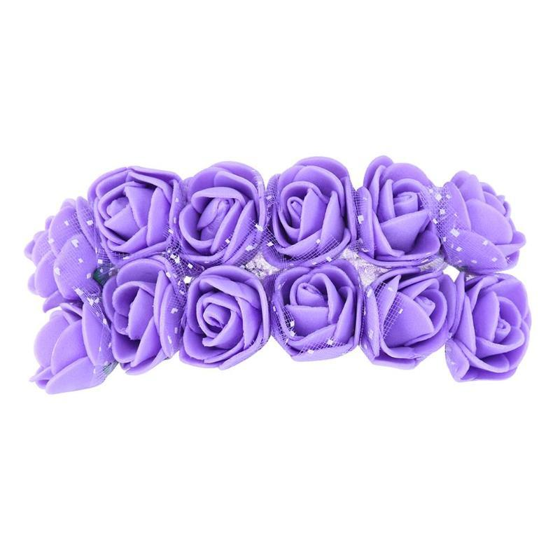 2cm Artificial Rose Flowers for Wedding Decoration PE Foam Dried Flower Home Decorative Supply C18112601