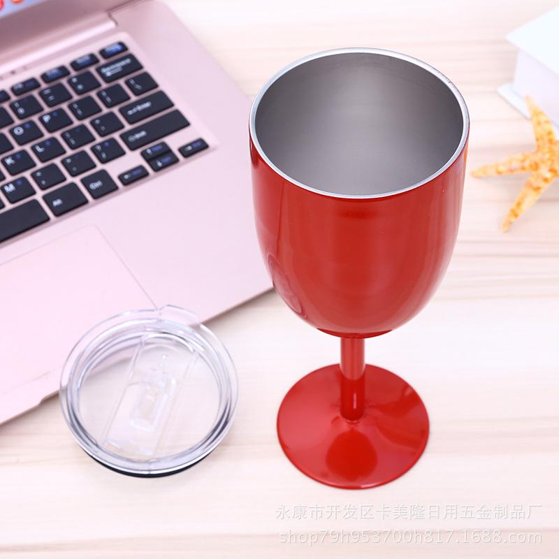 Wholesale-50pcs-lot-10oz-304-stainless-steel-red-wine-Goblet-double-layer-wine-cup-with-lid (1)