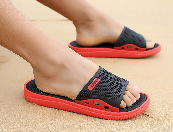 Fashion New Design Anti Slip Adult Men Shoes Sport Slide Slippers Outdoor Indoor Beach Slippers For Man (16)