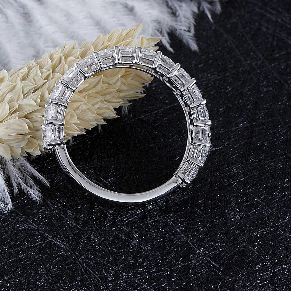 moissanite wedding band- radient cut (7)