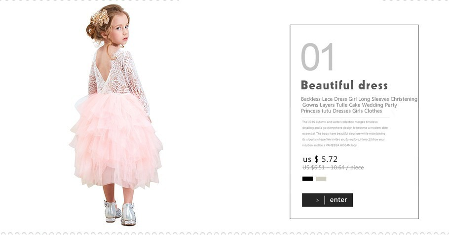 e1199171c1 2019 Embroidery Floral Dress For Children Princess Formal Dresses Flower  Kids Wedding Evening Prom Gown Girls Xmas Party Clothing J190425 From  Tubi06, ...