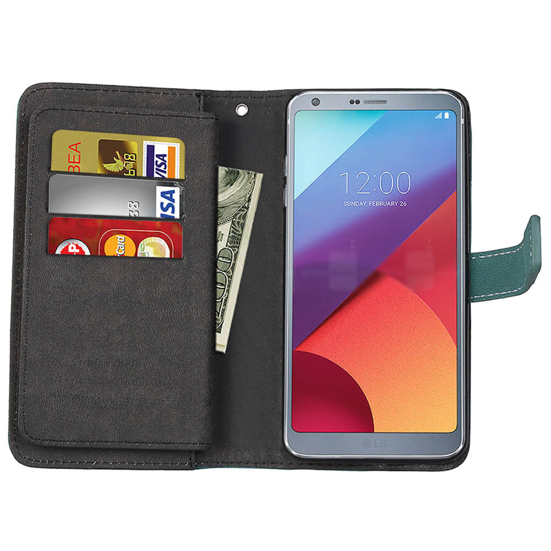 For LG G6 G5 G4 Case Cover Flip Leather Wallet Card Slot Holder Stand Phone Bags cases for LG G6 G5 G4 Phone Capa Fundas for lg g6 case07