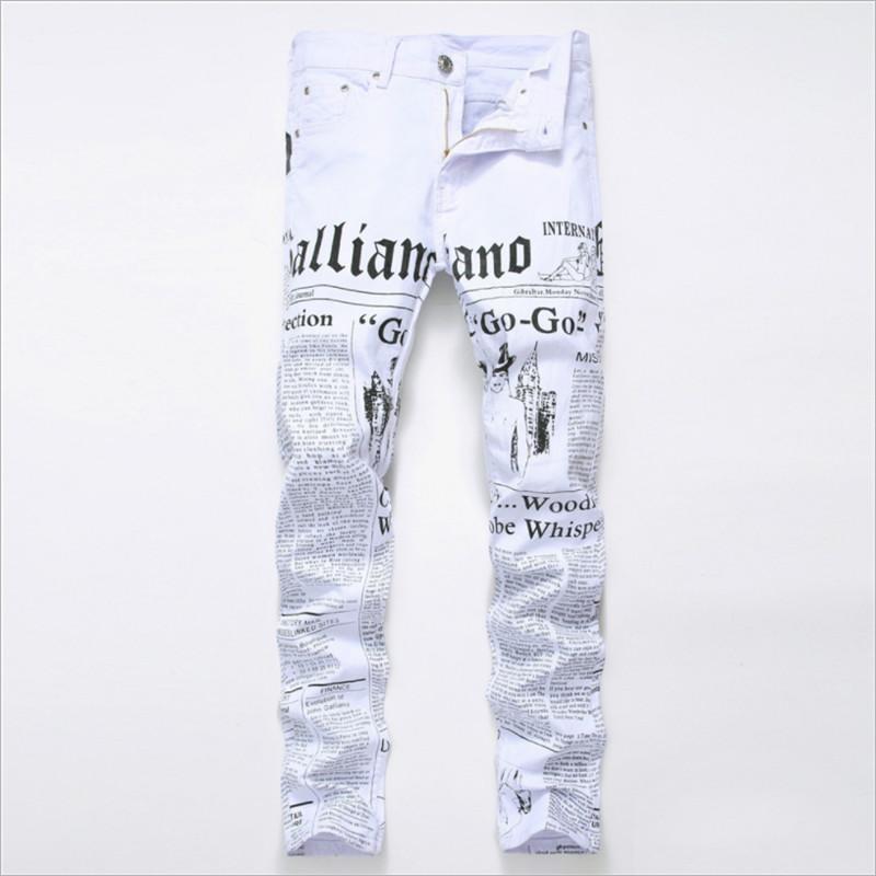 Distribuidores De Descuento Jeans Estampados De Dibujos Animados