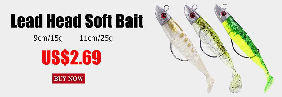 50pcs Worms Soft Bait 2cm Leurre Carp Fishing Lure Artificial Fishing Tackle