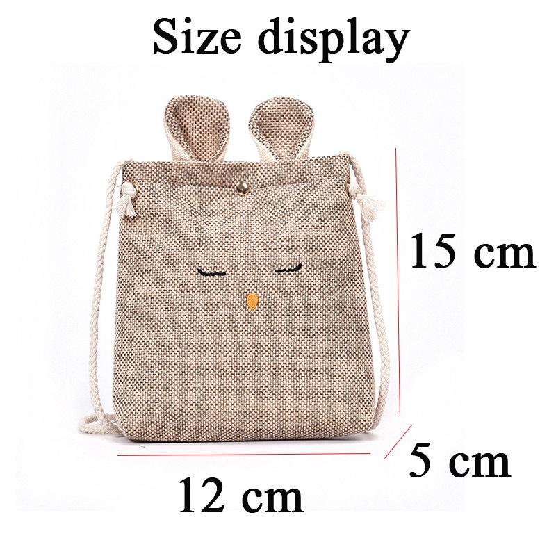 Cheap Fashion 2019 Lady Canvas Handbag Mini Single Shoulder Bag Crossbody Messenger Bags Women Bucket Bag Korean luxury women bag d036