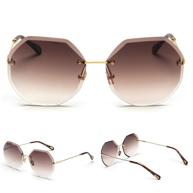 Octagon Sunglasses Women Fashion detaail (10)
