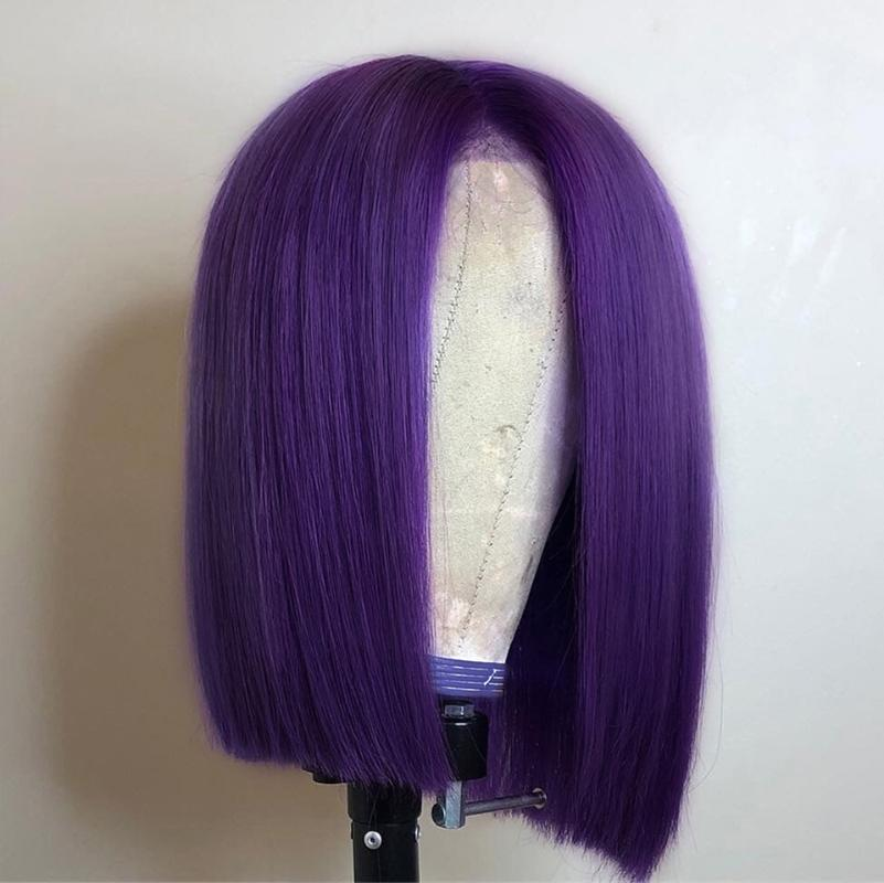 Black Purple Short Wig Sales On Christmas 2020 Buy Cheap In Bulk From China Suppliers With Coupon Dhgate Com