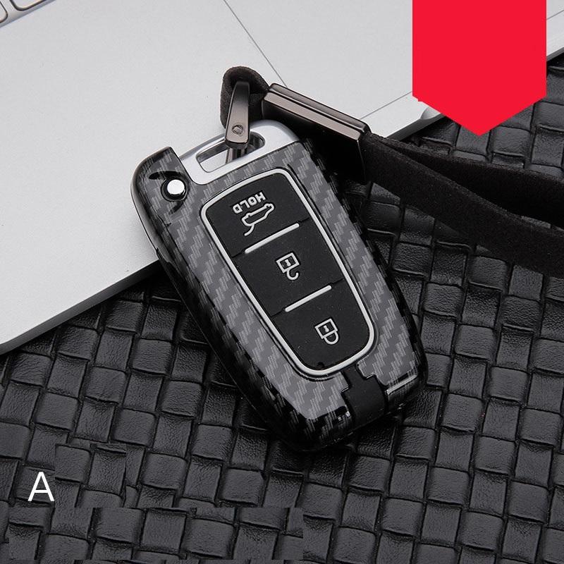 Silicone Cover Shell fit for HYUNDAI i20 i30 Flip Remote Key Case 3B 11CLR LB
