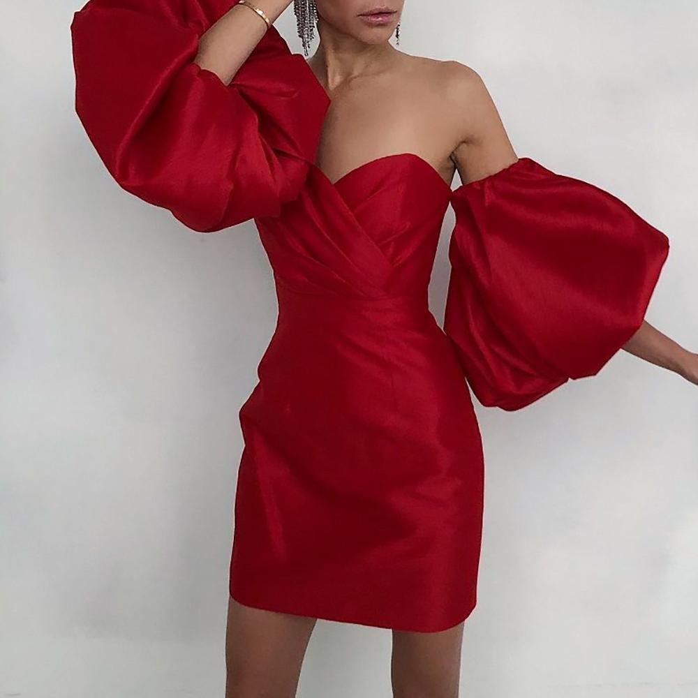 rabatt sexy rotes bleistiftkleid | 2021 sexy rotes