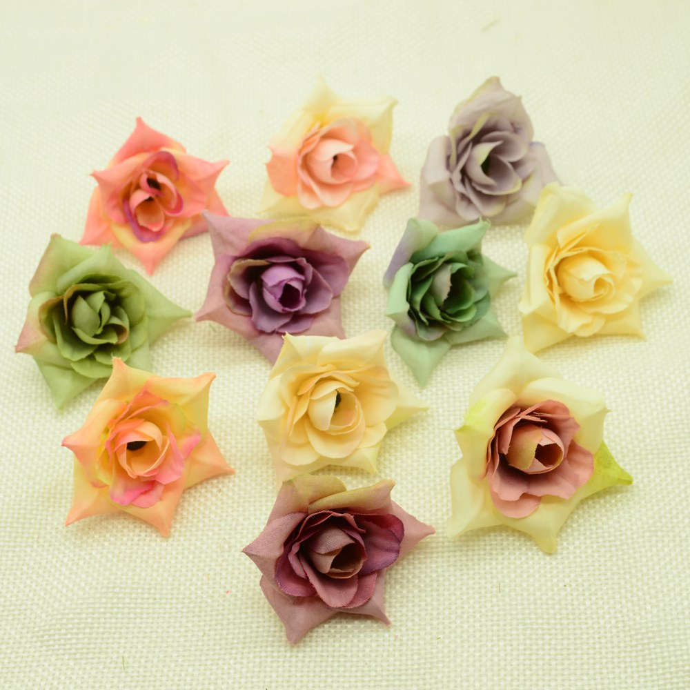 50 BULK Beads Acrylic Flower Assorted Lot 33mm Hibiscus Wholesale Large Lot