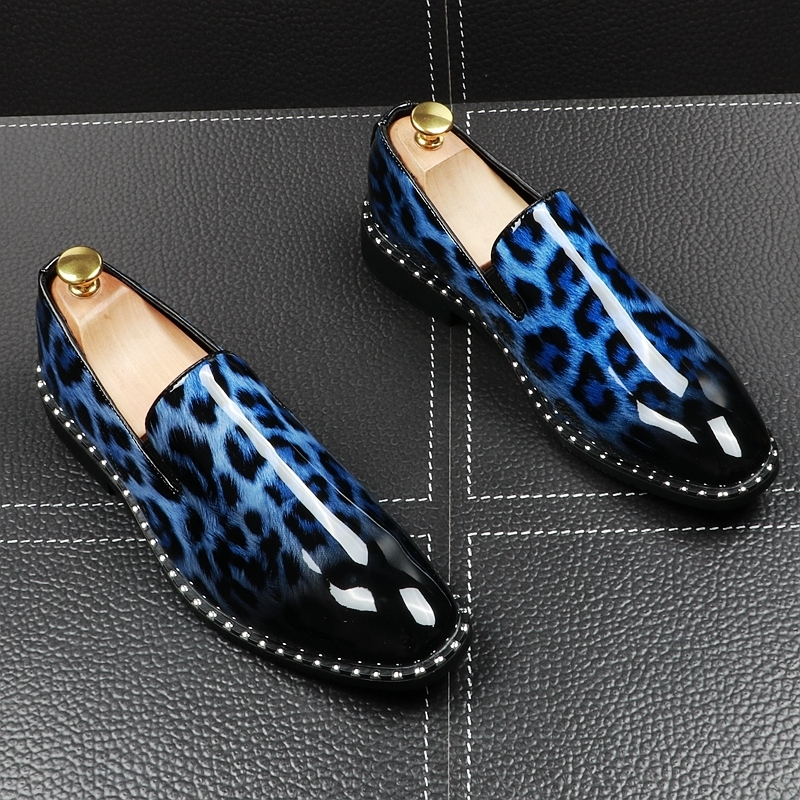 Fairy2019 Sharp Layer Man Hairstyle Division Personality Set Foot Dawdler Leisure Time Small Leather Shoes Within Increase Shoe