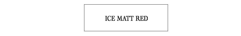 ice matt red
