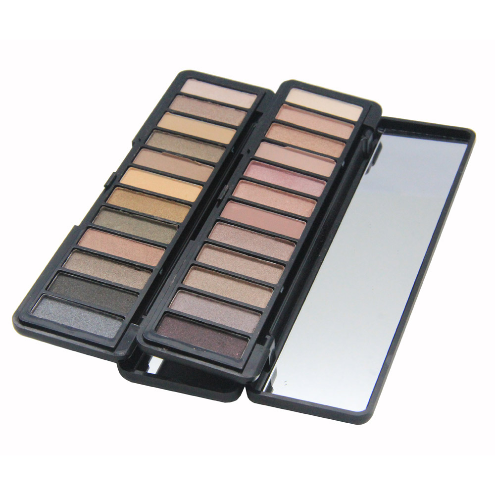 Top Quality Makeup Pigment Eye Shadow Palette Waterproof Matte Shimmer Eye Shadow Pallete Cosmetics Natural Perfect Shadows
