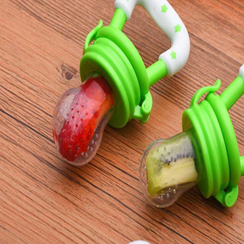 Sécuriser l'alimentation des bébés Sucette Sucette Alimentation pour fruits et légumes Alimentation pour enfants Mamelon Outil Nourrisseur d'aliments frais
