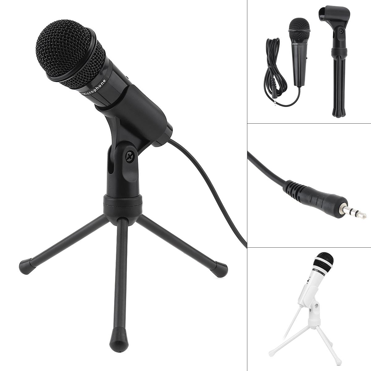 3,5 mm Kabelmikrofon Handheld Mikrofon für Smartphones im Chat Karaoke
