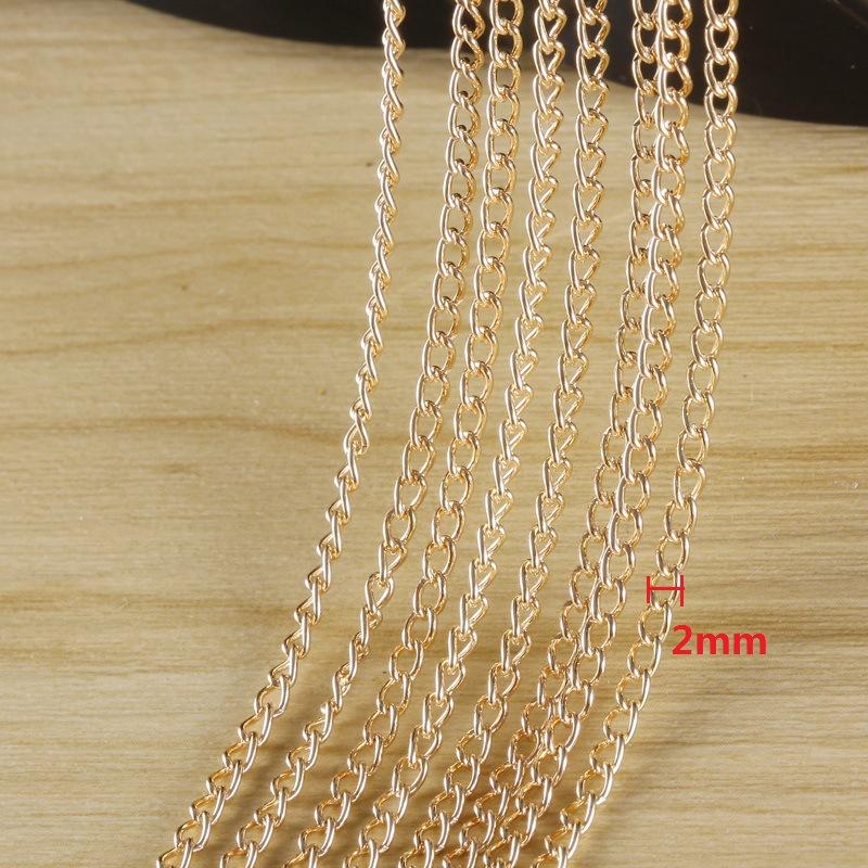 Bala cadena ROSÉGOLD 1,5 o 2mm diámetro 10m