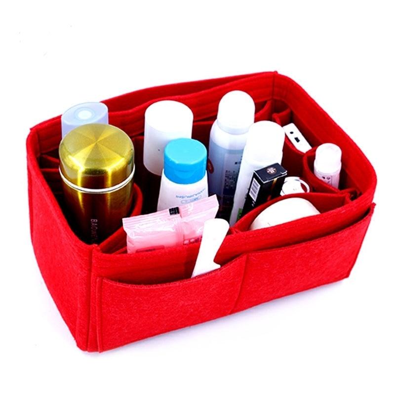 For Neo Cuir Large Medium Small Tote Shopper Bag Shaper Purse Organizer Diaper Shopping Inner Bag Purse Insert Y190702