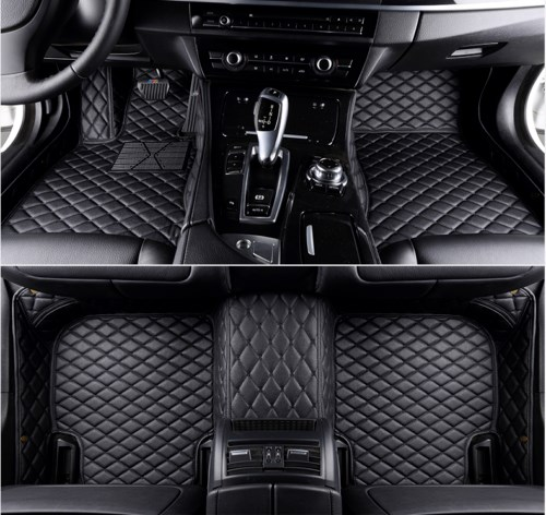 All Weather Floor Mat for 2004-2006 Subaru Outback 3D Full Protection Car Accessories Black 3 Piece Set