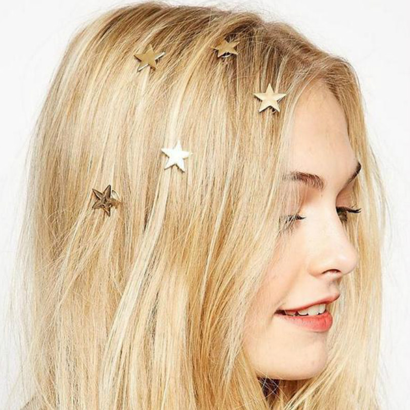 Mermaid design sequins hairpins girl hair clips kids headwear accessories MTAU